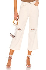 Free People Ranger Wide Leg Jean in White