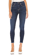 Free People High Rise Jegging in Navy