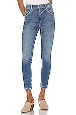 Free People Riley Seamed Skinny in Blue