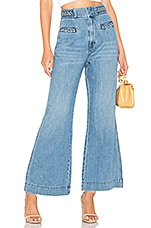 Free People Seasons In The Sun Jean in Sky