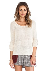 Nickles and Dimes Pullover in Ivory