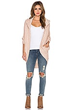 Free People Coco Cocoon Cardigan in Ivory Combo