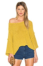 Halo Pullover in Yellow