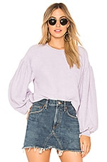 Free People Sleeves Like These Pullover in Lilac