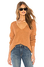 Free People Gossamer Sweater in Terracotta