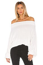 Free People Main Squeeze Hacci in White