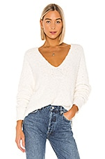 Free People Finders Keepers V Neck in White
