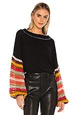 Free People Cha Cha Sweater in Black