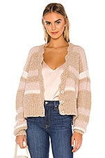 Free People Fine Time Cardigan in Neutral