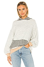 Free People Significant Other Sweatshirt in Grey