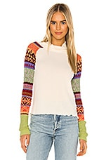 Free People Prism Sweater in Ivory