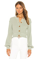 Free People All Yours Cardi in Green
