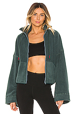Free People X FP Movement Climb High Fleece in Green