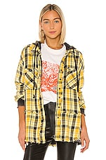 Free People Calico Basin Jacket in Yellow