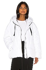 Free People Hailey Puffer in White
