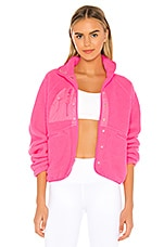 Free People X FP Movement Hit The Slopes Jacket in Pink