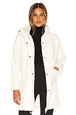 Free People X FP Movement Glacier Fleece Jacket in Ivory