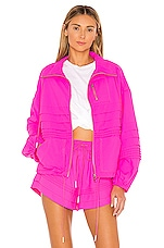 Free People X FP Movement Check It Out Jacket in Pink