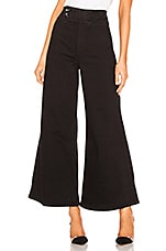 Free People Youthquake Bell Bottom Pant in Black