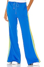 Free People Shes A Rainbow Sport Flare in Blue