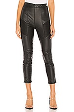 Free People Kaelin Moto Skinny in Black