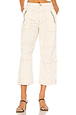 Free People Misty Road Pant in Ivory