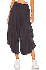 Free People Venice Harem Pant in Black