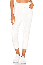 Free People X FP Movement Let It Go Sweatpant in White