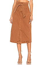Free People Savannah Belted Maxi in Neutral Combo