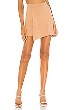 Free People Mod Wrap Skirt in Sand