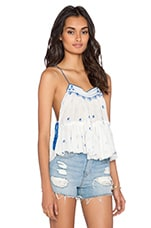 Free People Magic Power Tank in Ivory
