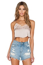 Free People Eclipse Crop Top in Vanilla