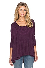 New Hope Babydoll Top en Violet Africain