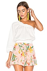 Anabelle Asymmetrical Top in Ivory