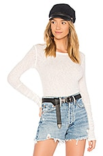 Free People Boundary Layering Tee in Ivory