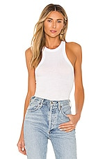 Free People Wide Eyed Tank in White