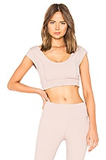 Movement Starlight Crop Top in Mauve. - size S (also in L,M,XS) Free People
