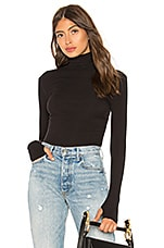 Free People That Classic Girl Bodysuit in Black