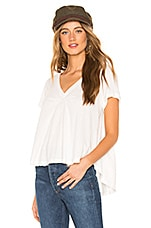 Free People All You Need Tee in Ivory