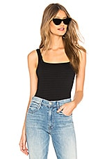 Free People Square One Seamless Cami in Black