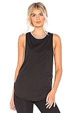 Free People Movement Solid Faded Away Buti Tank in Black