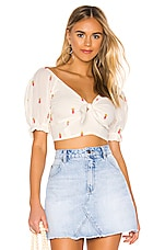 Free People Ladies That Luau Crop Top in Ivory
