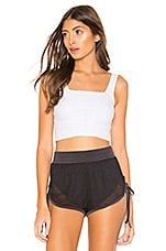 Free People Movement Lyla Crop Tank in White