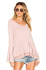 Free People Tangerine Tee in Mauve