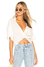 Free People Full Of Light Top in White