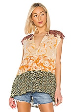 Free People Gotta Have You Top in Yellow