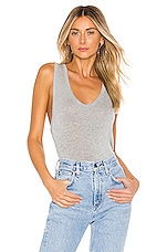 Free People Take The Plunge Tank in Grey