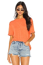 Free People Cassidy Tee in Red