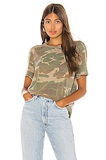 Free People Tourist Tee in Army