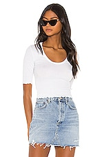 Free People Up All Night Top in White